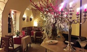 Diadema Restaurant: Cena di coppia di 4 portate e vino, nel romantico Ristorante Diadema nel cuore di Monti (sconto del 67%)