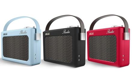 Akai Retro-Style DAB Radio