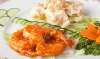 【64%OFF】高級食材をふんだんに使用。メディアで何度も紹介された、本格中華料理店 ≪大海老の二色盛り・贅沢海鮮姿煮など12品+1ドリ...