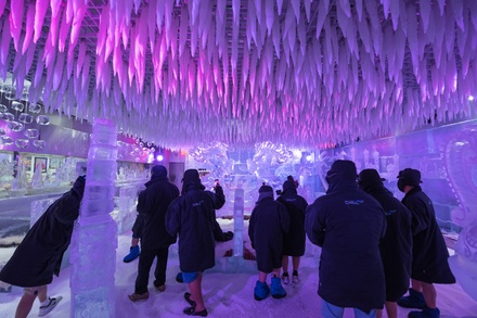 Ice Lounge Entry with Optional 30 Minute Adventure Zone Pass for Up to Four at Chillout Ice Lounge