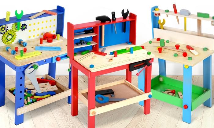 Banco Da Lavoro Per Legno : Banco da lavoro per bambini groupon goods