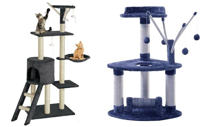 Albero tiragraffi per gatti