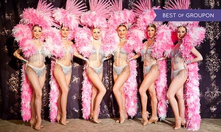 Dîner spectacle dansant pour 2 personnes le samedi soir à 89,90 € au cabaret Le Baroque