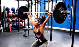 CrossFit Beach Box: $49 for One Month of Unlimited CrossFit at CrossFit Beach Box (Up to $149 Value)