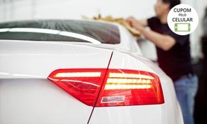 Lava-rápido e Estacionamento Bom Trato: Bom Trato – Santos: lavagem completa (opções com cristalização de vidros e descontaminação da pintura)