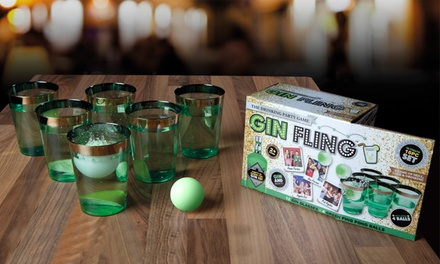 One or Two PMS International Gin Fling Ping Pong Drinking Game