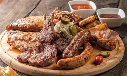 Fino a 2 kg di grigliata di carne, con antipasto, dolce e vino al Ristorante Gaia di Montebelluna (sconto fino a 53%)