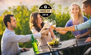 Gerry's Wine Tours: All-Day Wine Tour for One ($59), Two ($109), Three ($159) or Four ($215) with Gerry's Wine Tours (Up to $480 Value)