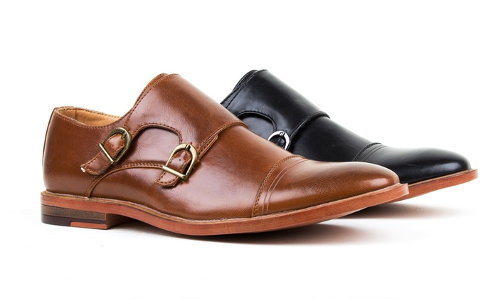 Harrison Men's Monk Strap Dress Shoes