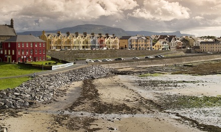 Co. Donegal: 1 or 2 Nights for Two with Breakfast and Late CheckOut at Grand Central Hotel