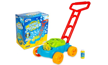 One or Two RMS Bubble Toy Lawn Mowers