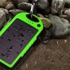 5,000mAh Solar-Powered Smartphone Charger