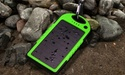 5000mAh Water-Resistant Solar Smartphone Charger