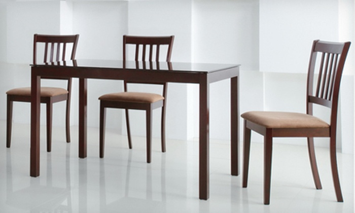 Two Baxton Studio Wood Dining Chairs: $89 for Two Baxton Studio Sharon Brown Wood Dining Chairs ($199.99 List Price). Free Shipping.