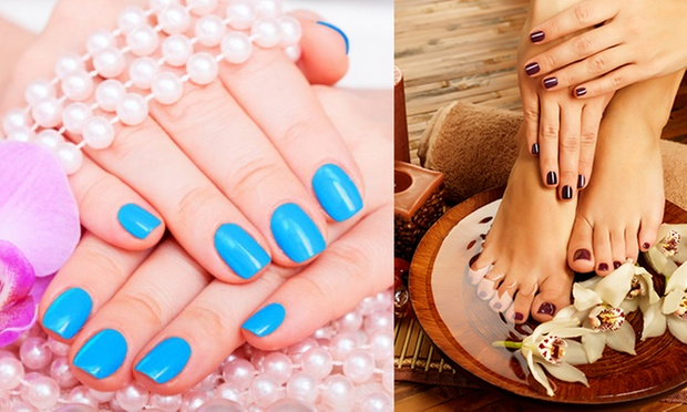 92 Off 98 For An Lcn Soak Off Gel Manicure Or Pedicure At Cm Nail