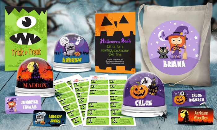 dinkleboo personalized halloween decorations from dinkleboo up to 80 off - Personalized Halloween Decorations