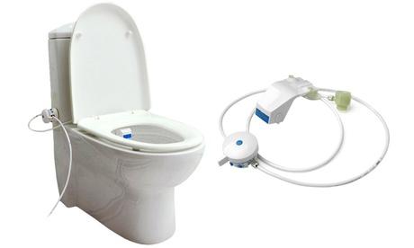 Bidé externo al WC con regulador de temperatura