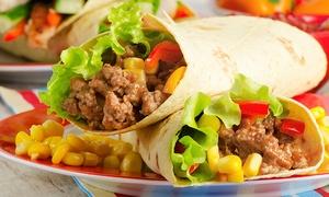 Los Bandidos: Burritos nach Wahl mit Beilagen und Nacho Chips Cheese für Zwei oder Vier im Los Bandidos (bis zu 64% sparen*)
