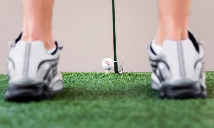 Riverside Golf Centre - Point McKay: C$25 for Five Buckets of Balls for Indoor Driving Range at Riverside Golf Centre (C$50 Value)