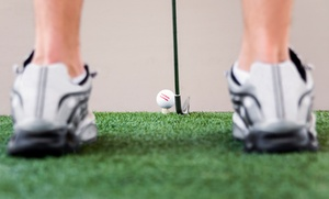 C$23 for Five Buckets of Balls for Indoor Driving Range at Riverside Golf Centre (C$50 Value)