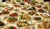 Menú degustación libanés