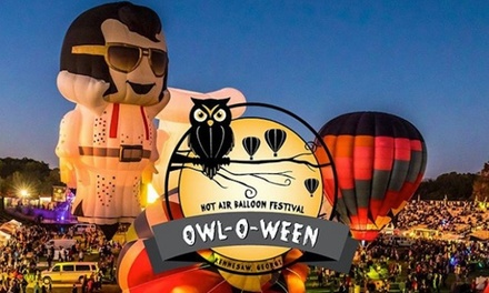 Tickets to Owl-O-Ween Hot-Air Balloon Festival on October 18–19, 2019 (Up to 45% Off). Six Options Available.