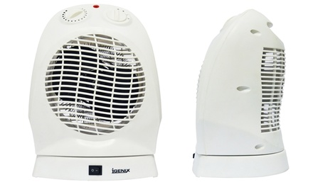 Igenix IG9021 Upright Oscillating 2000W Fan Heater for £17.99 With Free Delivery