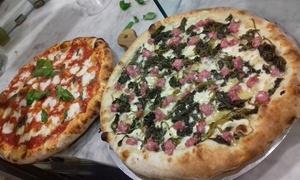 Rewind Pizzeria: Menu con pizza a scelta, dolce e birra per 2 o 4 persone al ristorante pizzeria Rewind (sconto fino a 61%)