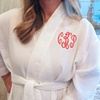 Up to 52% Off Women's Monogrammed Robes