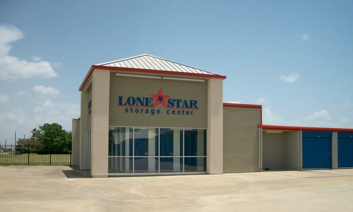 Lone Star Storage Center   Multiple Locations: $50 Off $100 Worth Of Storage  Space