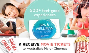 Edge Loyalty: Spa & Wellness Gift Card with Movie Tickets from $25 (Up to $184 Value)