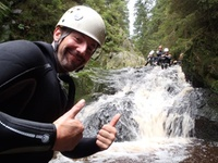 Canyoning dans les Ardennes