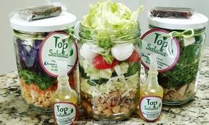 Top Salada: Top Salada – Praia de Itaparica: 5, 10 ou 15 saladas no potinho em domicílio ou para retirada