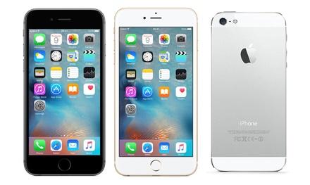 iPhone 4/4S, 5/5C/5S, SE, 6/6S/6S Plus, 7 ricondizionati Superior, garanzia 2 anni del rivenditore e spedizione gratuita