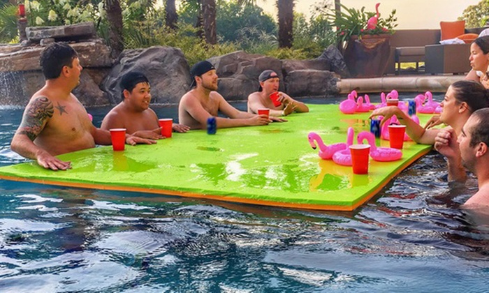 Up To 12% Off on Rubber Dockie Floating Water Pad | Groupon ...
