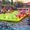 Rubber Dockie Floating Water Party Pads