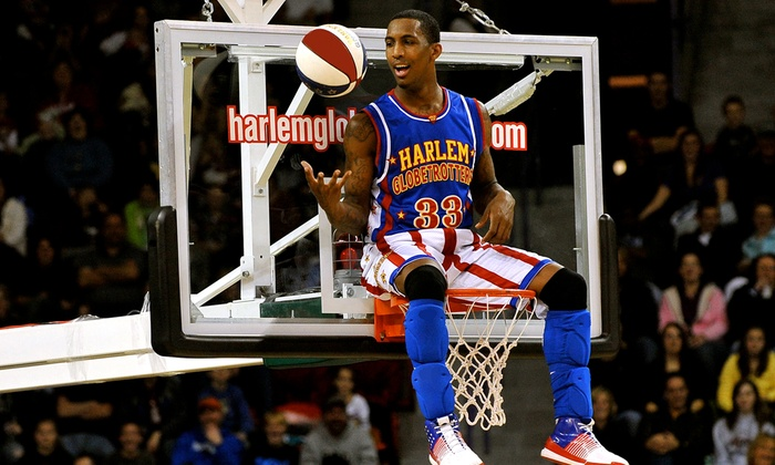 Harlem Globetrotters Game (January 28 at 2 p.m or 7 p.m. or January 29 at 2 p.m.)