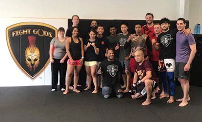 image for 4 MMA Classes of your choice including Boxing, Kickboxing, Jiu-jitsu, and Wrestling (Up to 81% Off)