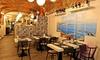 Ristorante pizzeria Bella Napoli (Bergamo) - Bergamo: Menu di mare del Golfo con calice di vino per 2 persone al ristorante Bella Napoli di Bergamo (sconto fino a 59%)