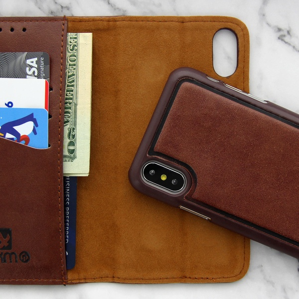 Leather Phone Case >> Up To 53 Off On Walvodesign Case For Iphone Groupon Goods