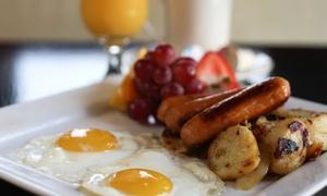Le Célébrité Restaurant: Gourmet Breakfast for Two or Four at Le Célébrité Restaurant (Up to 56% Off)