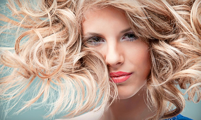 Salon Flor - North Central: Haircut and Style with Optional Single-Process Color or Partial or Full Highlights at Salon Flor (Up to 58% Off)
