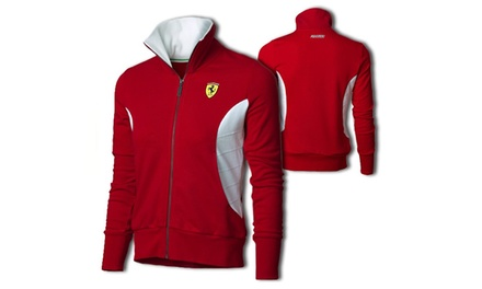Ladies' Ferrari Sweat Jacket for £11.99 (85% Off)