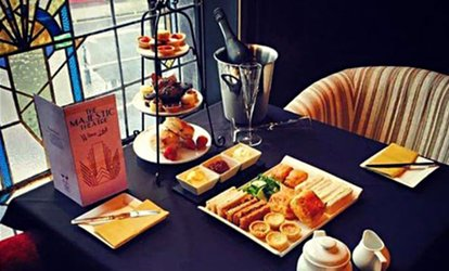 image for Afternoon Tea with Optional Cocktail for Two or Four at The Majestic Theatre
