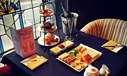 Afternoon Tea with Optional Cocktail for Two or Four at The Majestic Theatre
