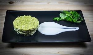 L'Angolo Del Vegetariano: Menu vegetariano con dessert e vino per 2 o 3 persone da L'Angolo Del Vegetariano (sconto fino a 64%)