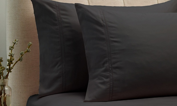 1000TC 100% Egyptian Cotton Sheet Set: Queen ($65), King or Mega Queen ($69) (Dont Pay $229.95)