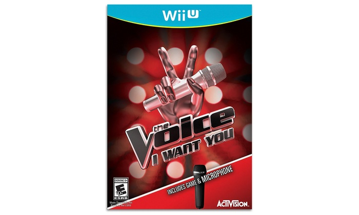The Voice for Wii U with Microphone