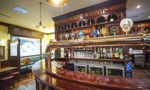 JJ's Corner Irish Pub: Menu con hamburger di Angus da 200 grammi e birra al pub JJ's Corner, metro Lambrate (sconto fino a 59%)