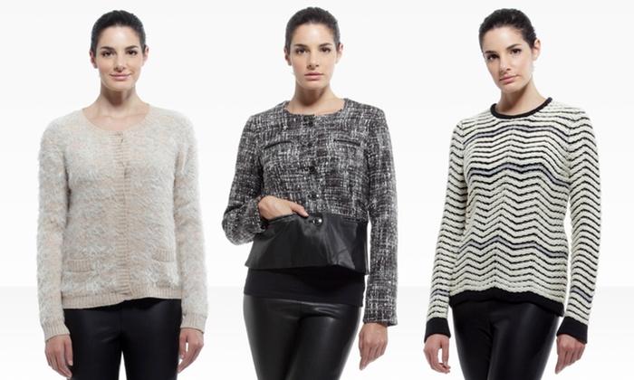 YAL New York Sweaters and Blazers: YAL New York Sweaters and Blazers. Multiple Styles Available.